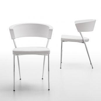 prinz-sedia-in-metallo-e-similpelle-colore-bianco